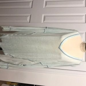 NEW! Seafoam Free People long sleeve New With Tags